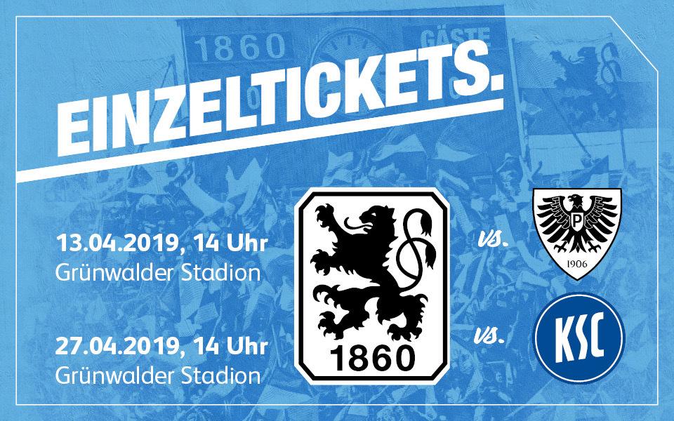 Ksc 1860 Tickets